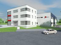 Neues Gebäude in der Rosine-Starz-Straße