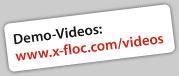 Sehen Sie unsere Demo-Videos / Watch our demo videos