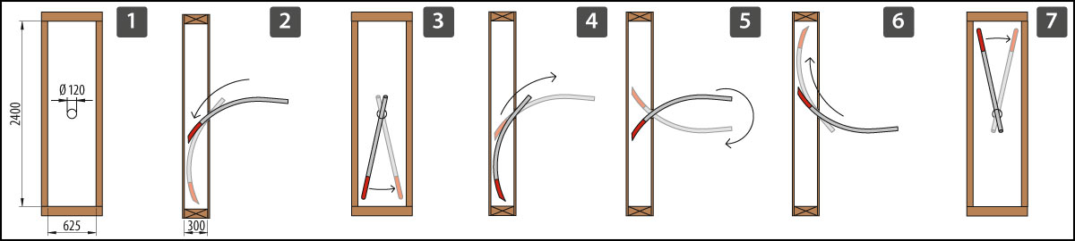 Beispiel Einblasnadel / Example Injection needle