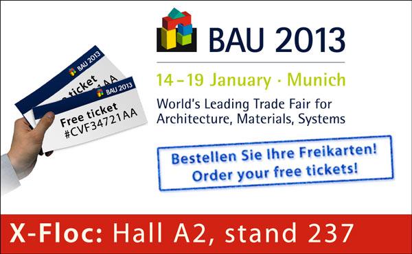 Freikarten - free tickets Bau 2013