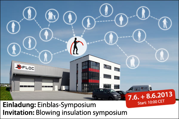 Einladung Einblas-Symposium/Invitation: Blowing insulation symposium