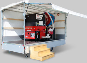 Einblasmobil/insulation blowing trailer EM440