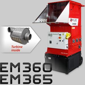 EM360/EM365 mit Turbine